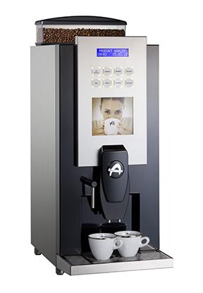 Kaffemaskin på jobben
