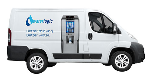 waterlogic delivery van