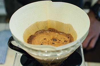Ungefilterter Kaffee